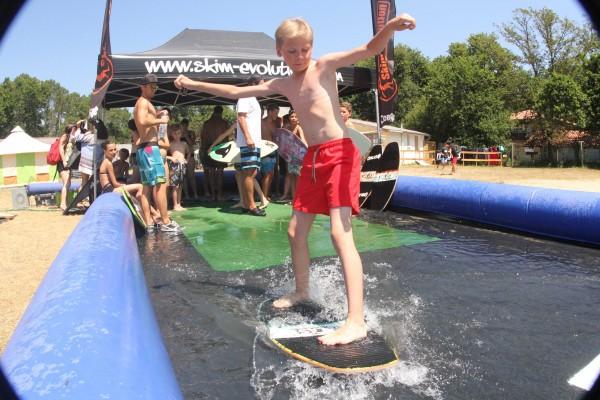 Le Skim Park au camp Planète Vacances