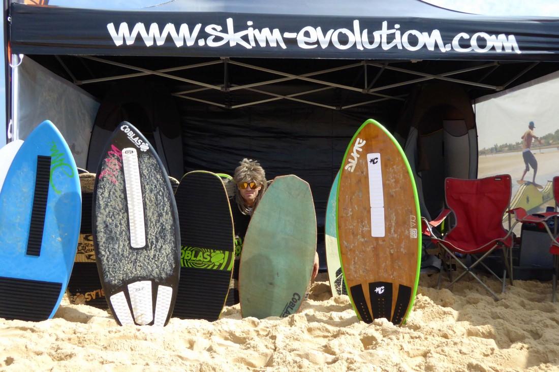 Coblas, Dune, Green Fix, Nuts traction, truc de fou, skimboard, evolution, flat, initiation, découverte, glisse, module, vagues, treuil, grinch, grind