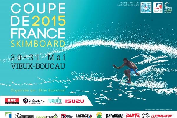 Affiche de la deuxième étape de la Coupe de France 2015