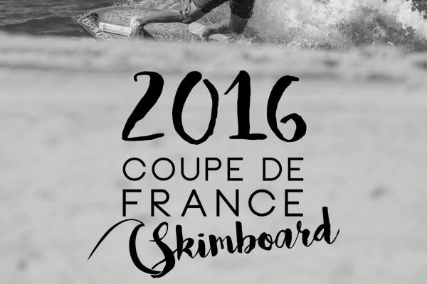 Affiche 1 ère étape de la Coupe de France de skimboard