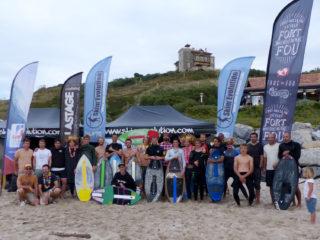 Coupe de France de skimboard 2019 plage d'Ilbarritz Bidart